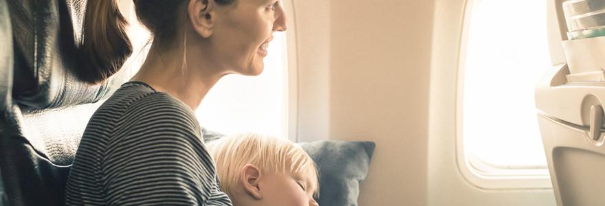 voyage avec son bébé