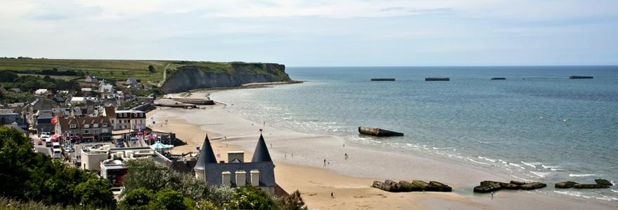 plages du débarquement en Normandie